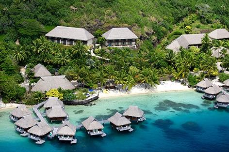 ★早期予約でお得!★ 太平洋の真珠ボラボラ島+タヒチ島6日間