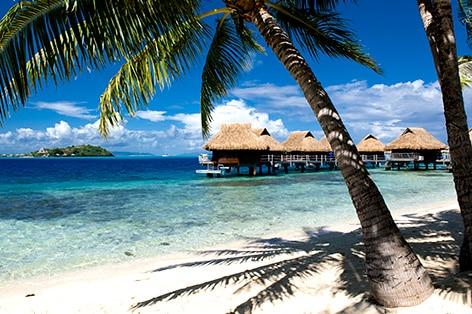 お手頃価格で行く! ボラボラ島+タヒチ島8日間
