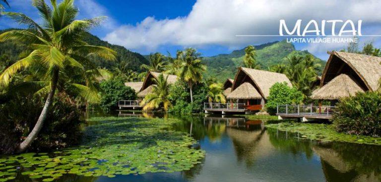 ★ダイビング(6ダイブ付)★ フアヒネ島+タヒチ島8日間