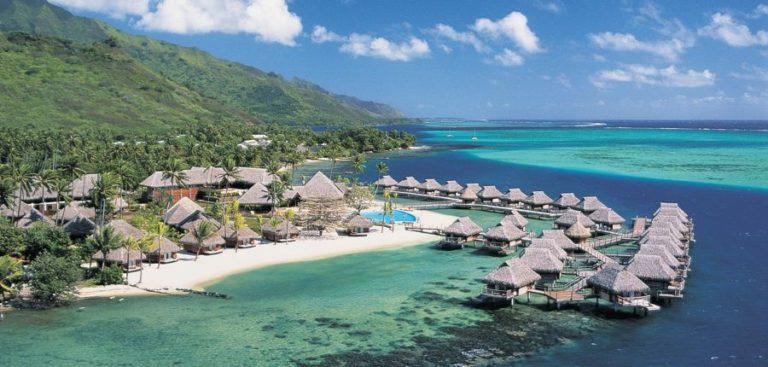 楽園タヒチ3島巡り8日間