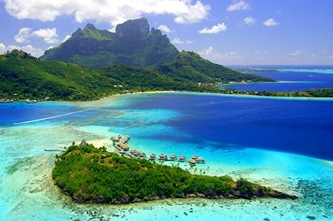 <H.I.S.オリジナル!特別企画付>ボラボラ島(4泊)&タヒチ島8日間
