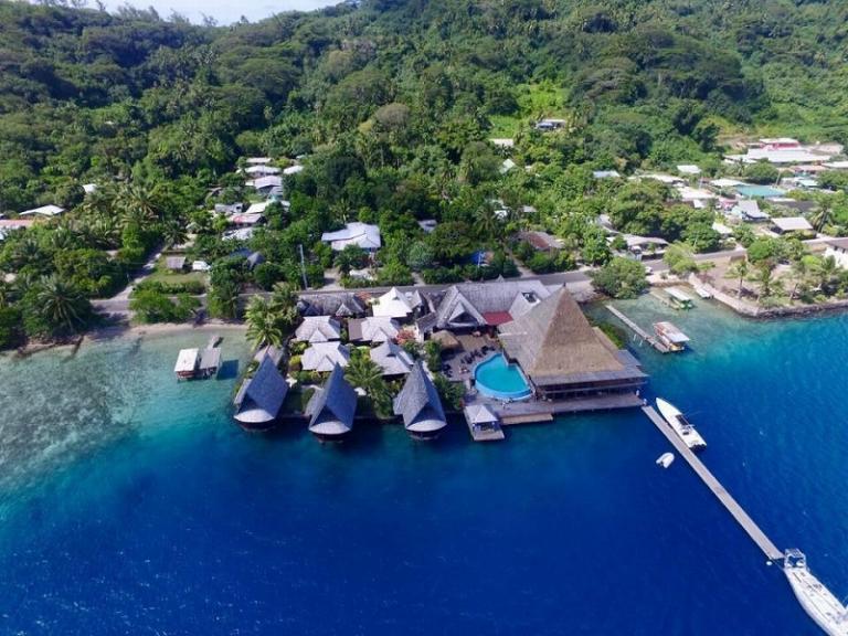 ◇格安で泊るタヒチの旅◇ボラボラ島+タヒチ島6日間 オアオアロッジ