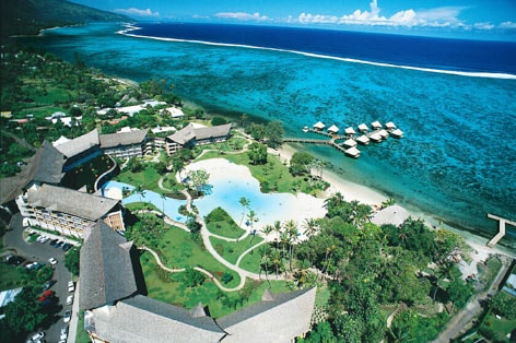 【WEB限定】タヒチ6日間 タヒチ イアオラビーチリゾート滞在
