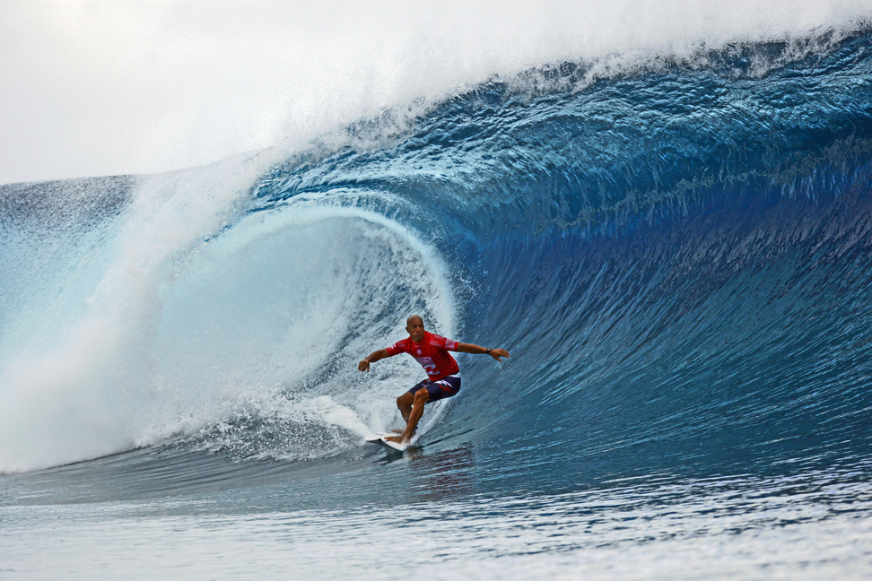 Tahiti, home to one of the world's heaviest big wave