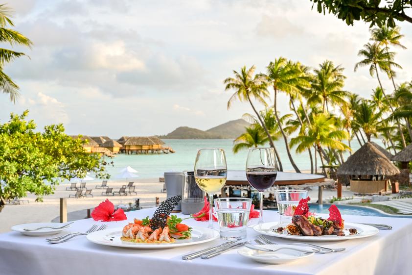 タヒチのフランス料理 - Le Bora Bora by Pearl Resorts